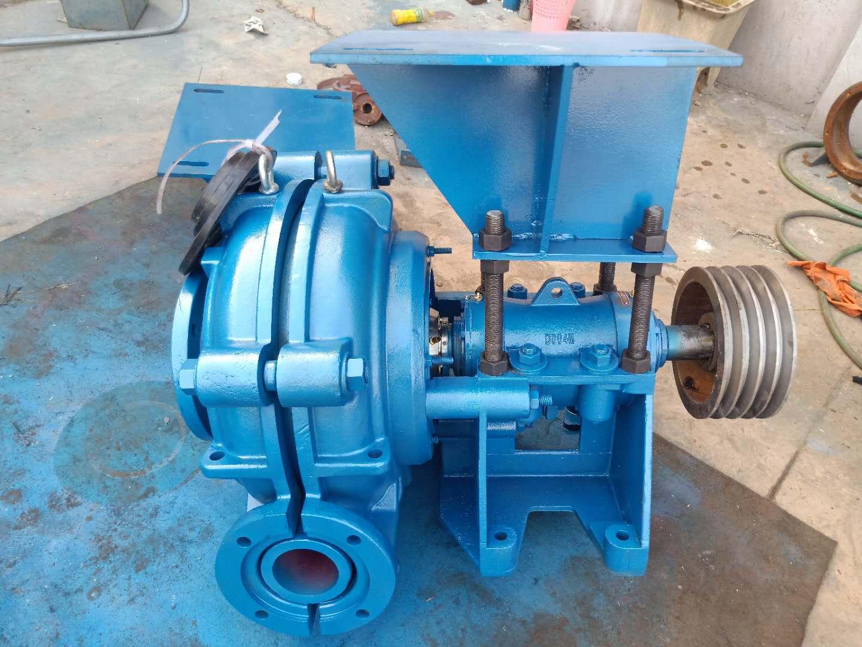 悬臂、卧式离心渣浆泵AH系列渣浆泵程跃泵业